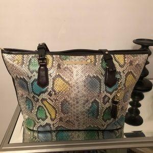 Brahmin leather bag